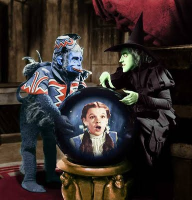 wicked witch and flying monkeys