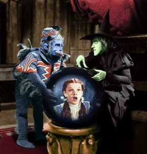 Monkey Master, Wicked Witch of The West and Dorothy